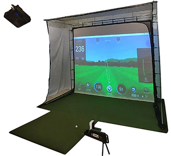 The A-Sim Golf Simulator Studio