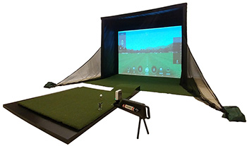 The B-Sim Golf Simulator Studio